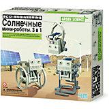 """Набор для робототехники 4М """"Солнечные минироботы"""", 3 в 1"""