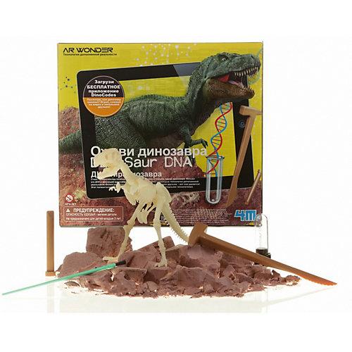 """Набор для раскопок 4М """"Оживи динозавра"""" ДНК Тираннозавра от 4M"""