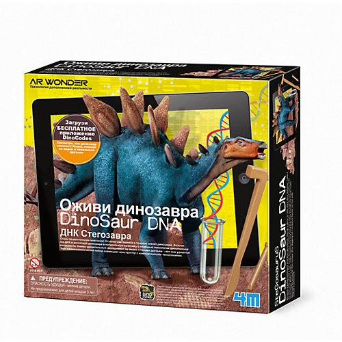 """Набор для раскопок 4М """"Оживи динозавра"""" ДНК Стегозавра"""