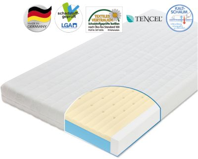 Kinder Matratze Air Allround 60 x 120 cm Zöllner