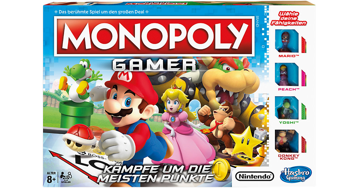 Monopoly Gamer - Mario Edition