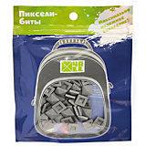 Набор для рюкзака 4ALL пиксель-Бит, серый, 80 шт