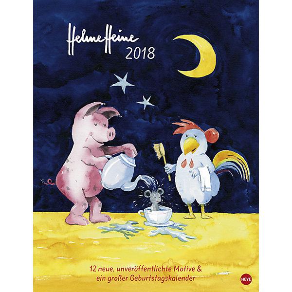 helme heine edition kalender 2018 helme heine mytoys. Black Bedroom Furniture Sets. Home Design Ideas