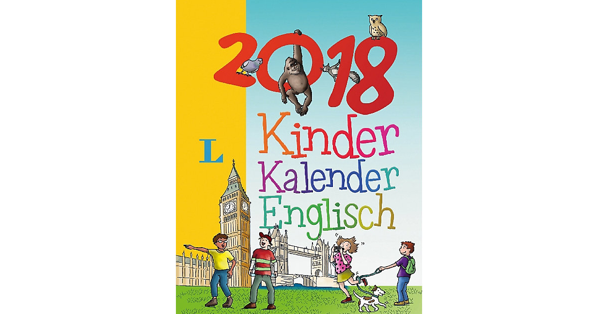 Langenscheidt Kinderkalender Englisch, Abreißka...