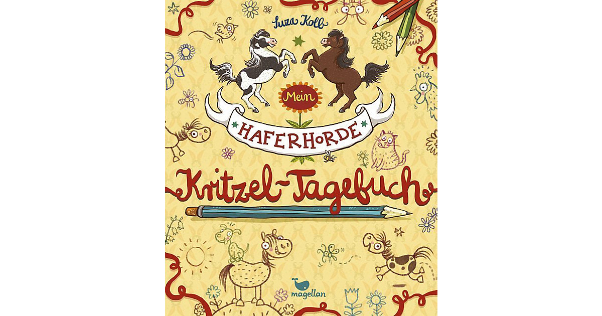 Magellan Verlag · Mein Haferhorde-Kritzel-Tagebuch