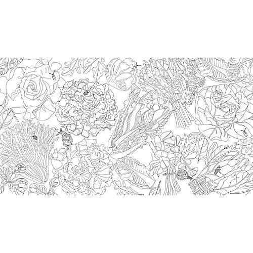 раскраска антистресс сад радостей земных Machaon от махаон