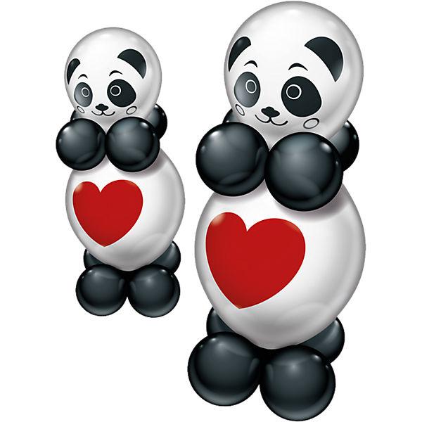 Ballonset 2 Funny Panda, Karaloon