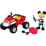 """Игровой набор Disney """"Микки и весёлые гонки"""" Пожарный квадроцикл"""
