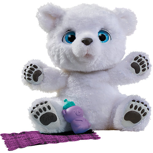 Hasbro FurReal Friends Mein verspieltes Eisbär Baby