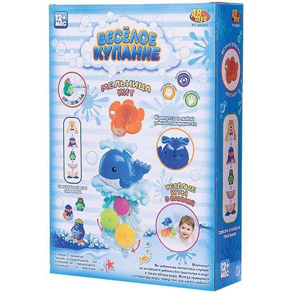 """Игрушки для ванной, с аксессуарами (5 предметов), """"Веселое купание"""", ABtoys"""