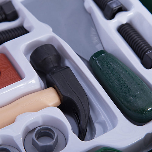 """Набор инструментов в чемодане """"Помогаю Папе"""", 22 предм., ABtoys от ABtoys"""