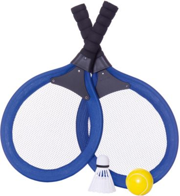 "Набор ""Бадминтон и теннис"", 2 в 1, 4 предмета, в сетке, ABtoys"