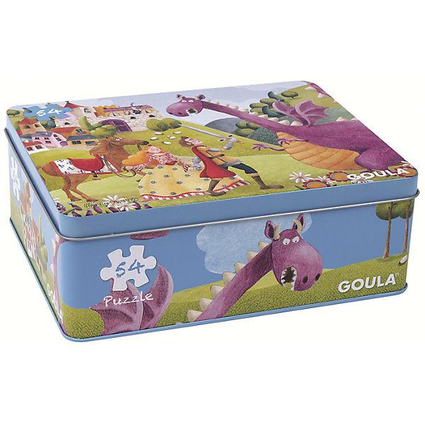 Puzzle 54 Teile - Prinz und Drache, Goula Goula Drache, 31df4c