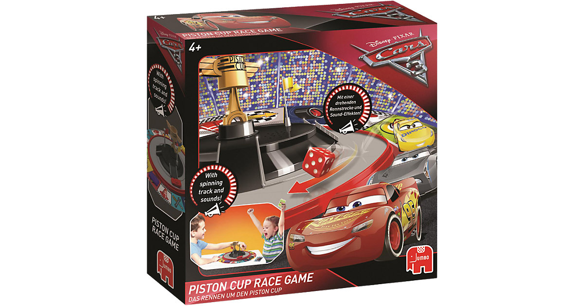 Piston Cup Race Game - Cars 3