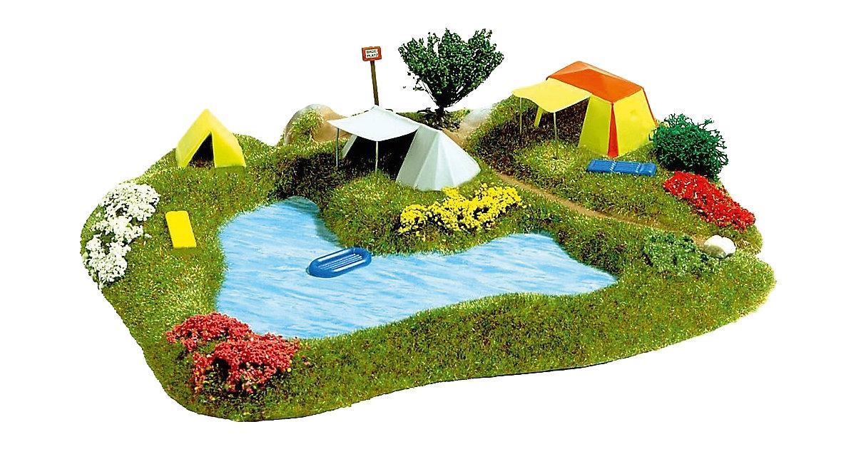 See mit Campingplatz H0