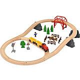 """Железная дорога Brio """"Поездка по сельской местности с мостом"""""""