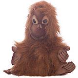 """Мягкая игрушка на руку Hansa """"Экзотические животные"""" Малыш орангутанга, 25 см"""