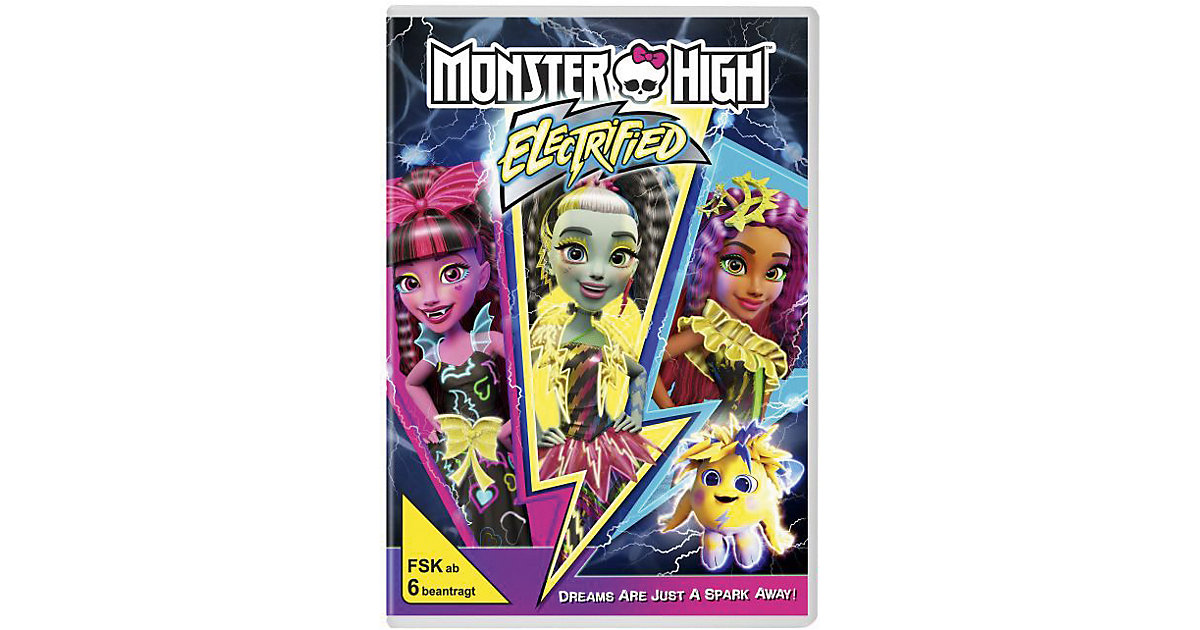 DVD Monster High - Elektrisiert