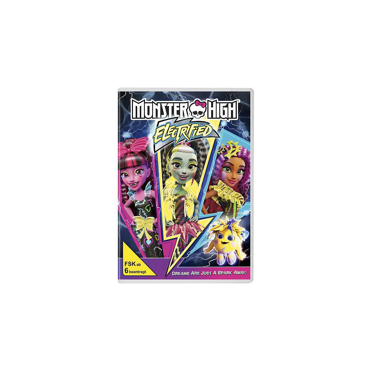 Monster High Elektrisiert Dvd