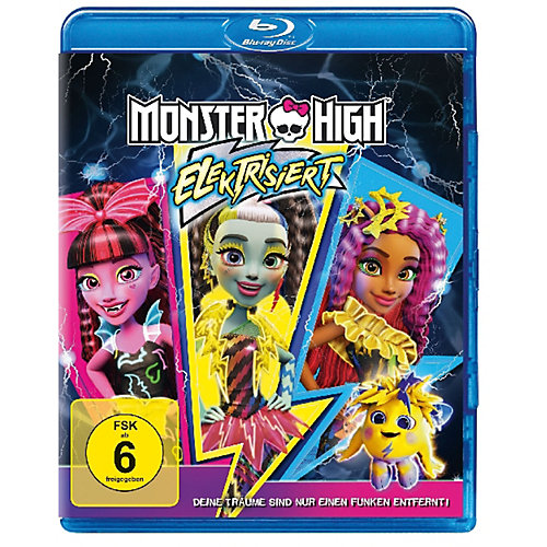 Universal BLU-RAY Monster High - Elektrisiert Sale Angebote Schipkau Drochow
