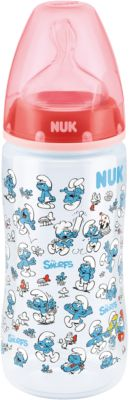 300 ml NUK First Choice PA-Flasche Silikon Sauger Gr.2 M