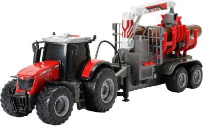 Trecker Traktor Lastwagen Quality 2 2-er Set Wader Toys LKW Spielzeug Truck