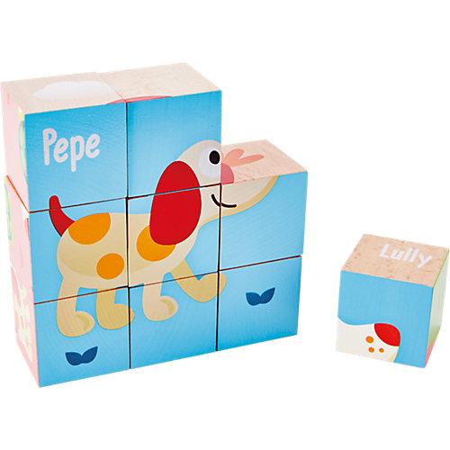 Кубики Hape Лили, 9 шт от Hape