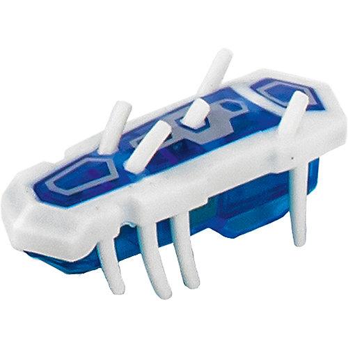 "Микро-робот ""Nano Nitro Single"", бело-синий, Hexbug от Hexbug"