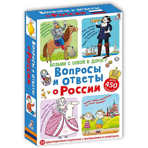 """Карточки """"Вопросы и ответы о России"""" от Робинс"""