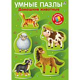 Умные пазлы: Домашние животные