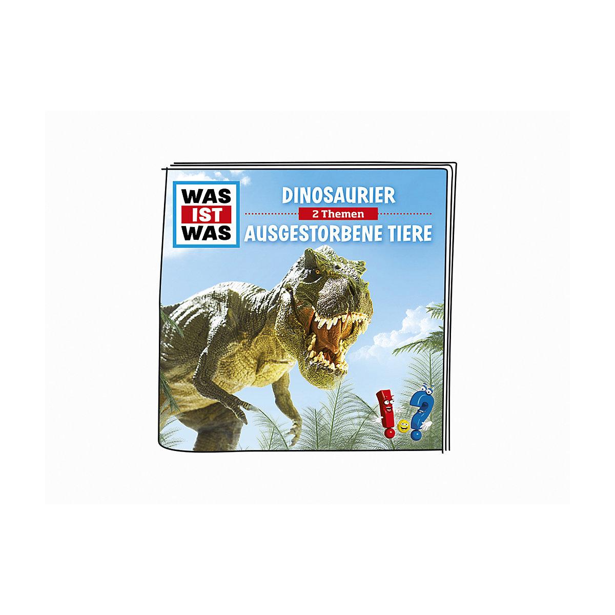 Was ist was - Dinosaurier und ausgestorbene Tiere tonies 0YaoI