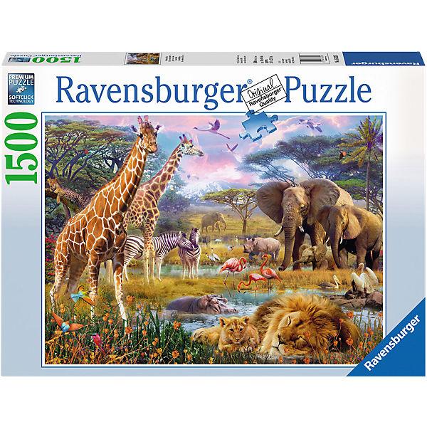 Puzzle 1500 Teile Buntes Afrika, Ravensburger
