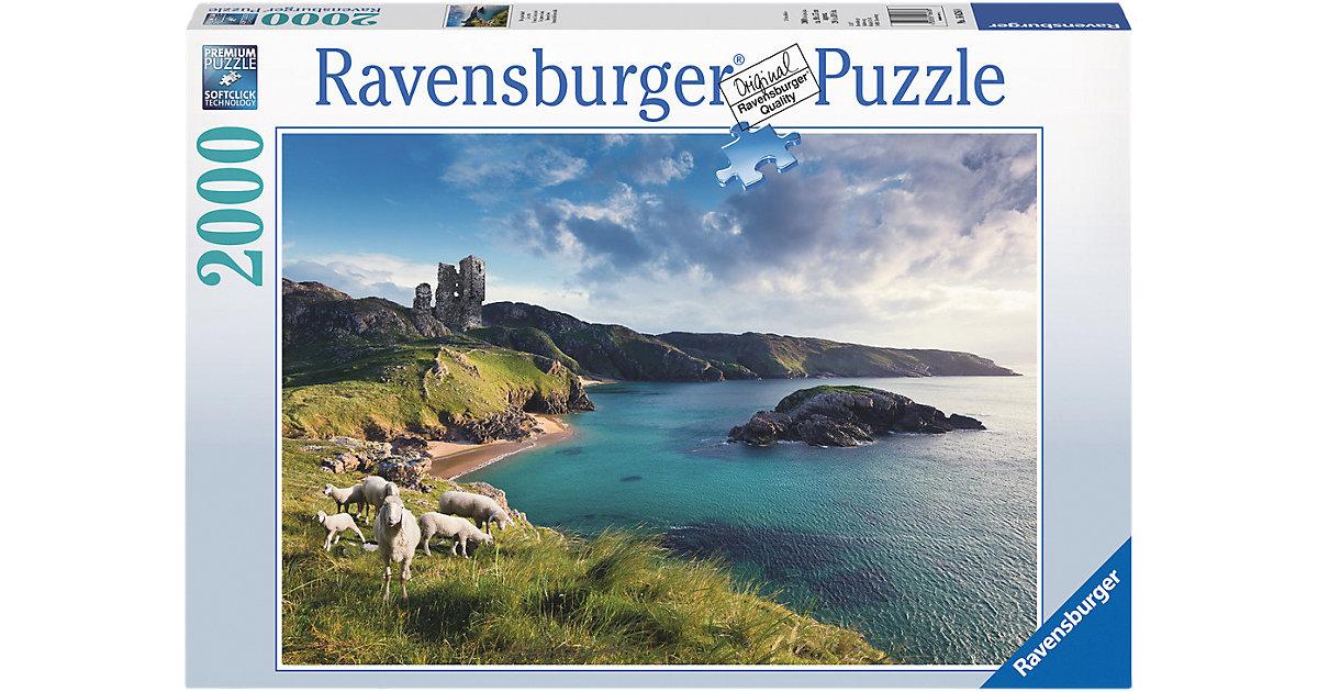 Ravensburger · Puzzle 2000 Teile Die grüne Insel