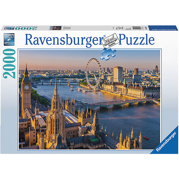 Puzzle 2000 Teile Stimmungsvolles London, Ravensburger