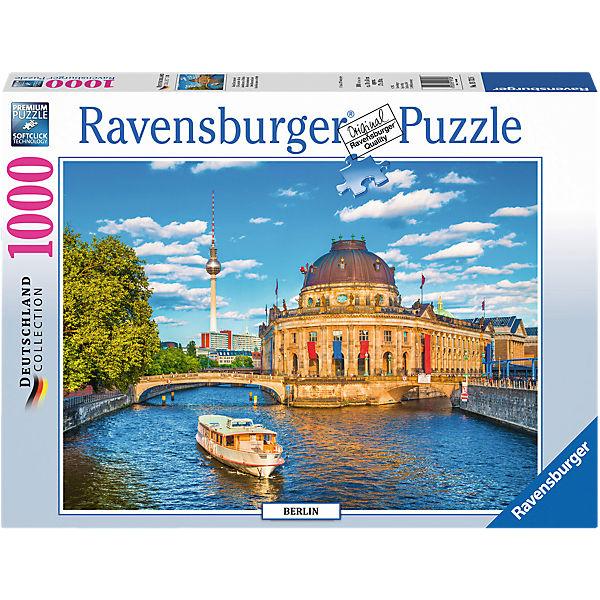 Puzzle 1000 Teile 70x50 Cm Berlin Museumsinsel Ravensburger
