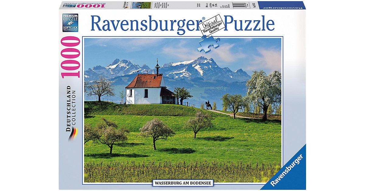 Puzzle 1000 Teile Wasserburg am Bodensee