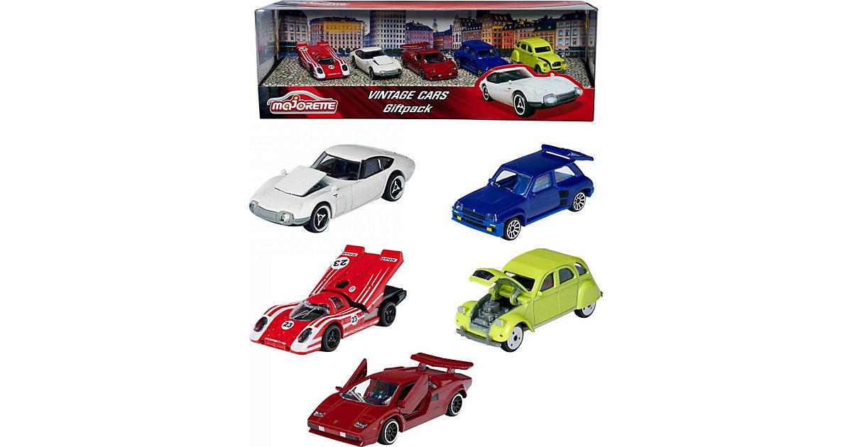Vintage Cars Geschenkset bunt