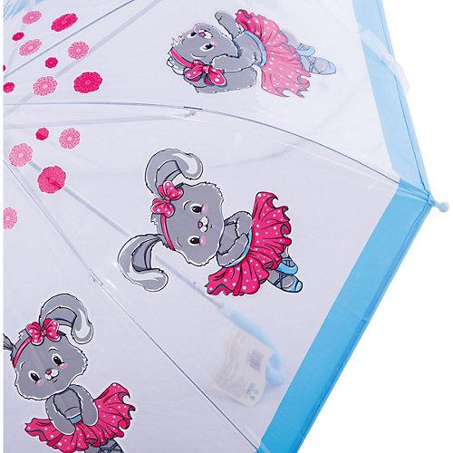 """Зонт детский прозрачный """"Зайка танцует"""", 46 см. от Mary Poppins"""