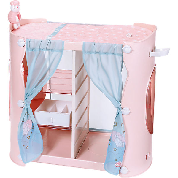 baby annabell sweet dreams 2 in 1 schrank puppenzubeh r. Black Bedroom Furniture Sets. Home Design Ideas