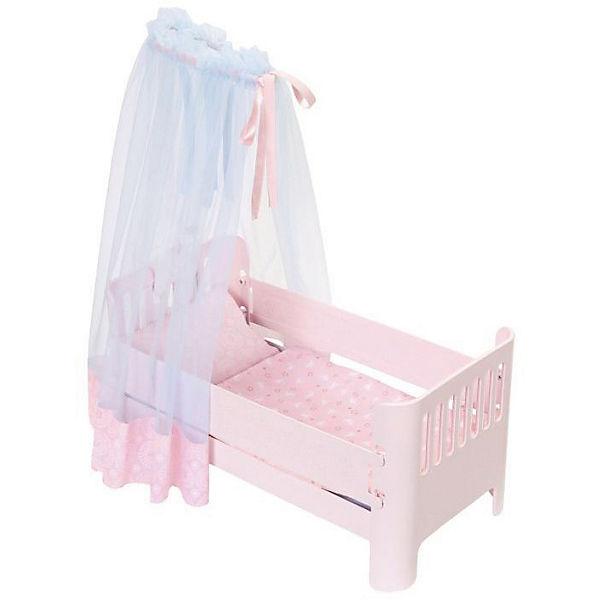 Baby Annabell Sweet Dreams Bett Mit Licht Und Sound Puppenzubehor