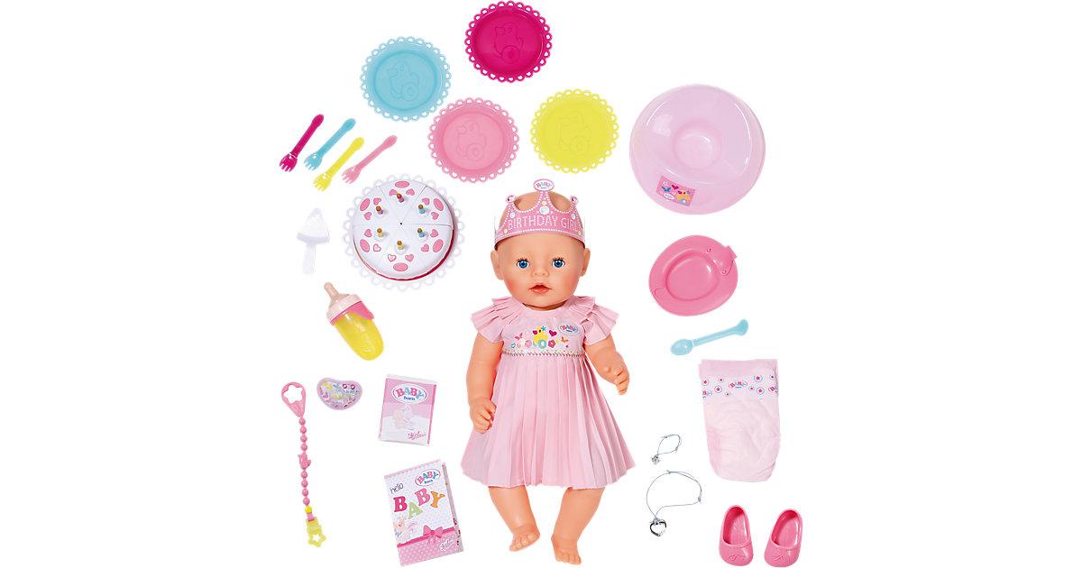 BABY born® Interactive Happy Birthday Babypuppe