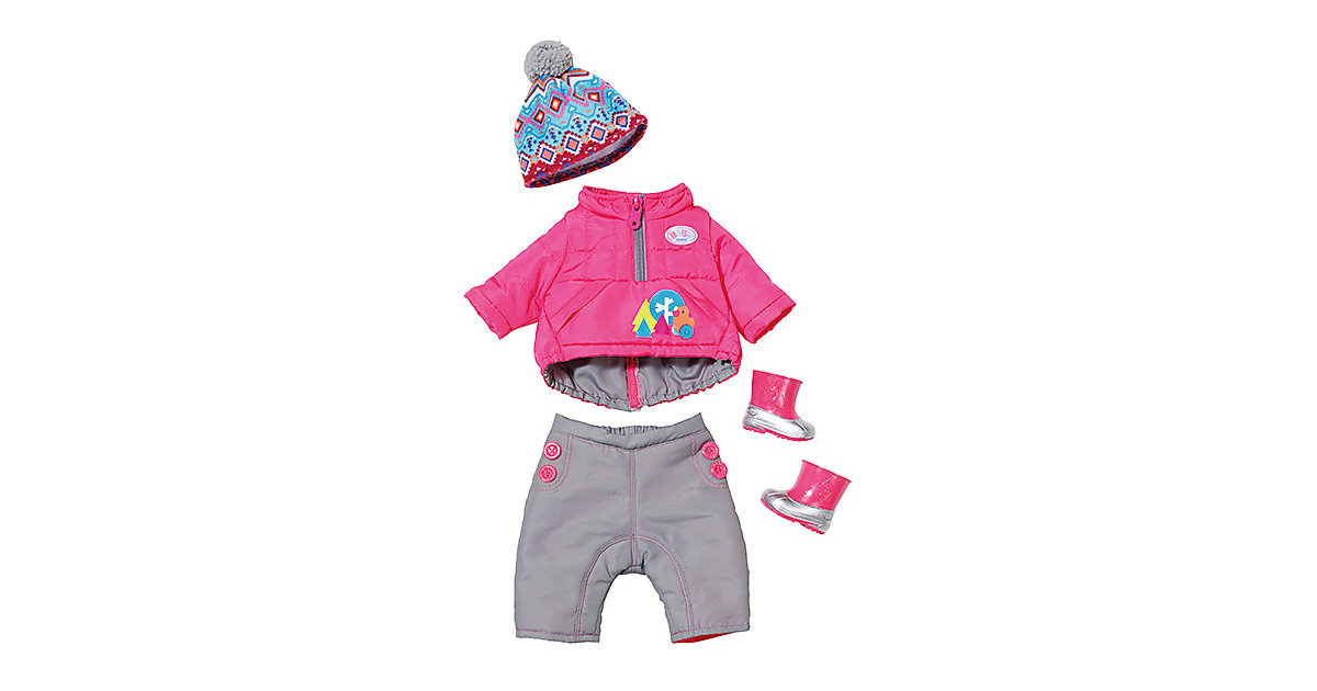BABY born® Play&Fun Deluxe Winter Set, 43 cm, Puppenkleidung
