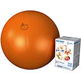 "Фитбол ""Стандарт"", оранжевый, ∅650 мм, Альпина Пласт"