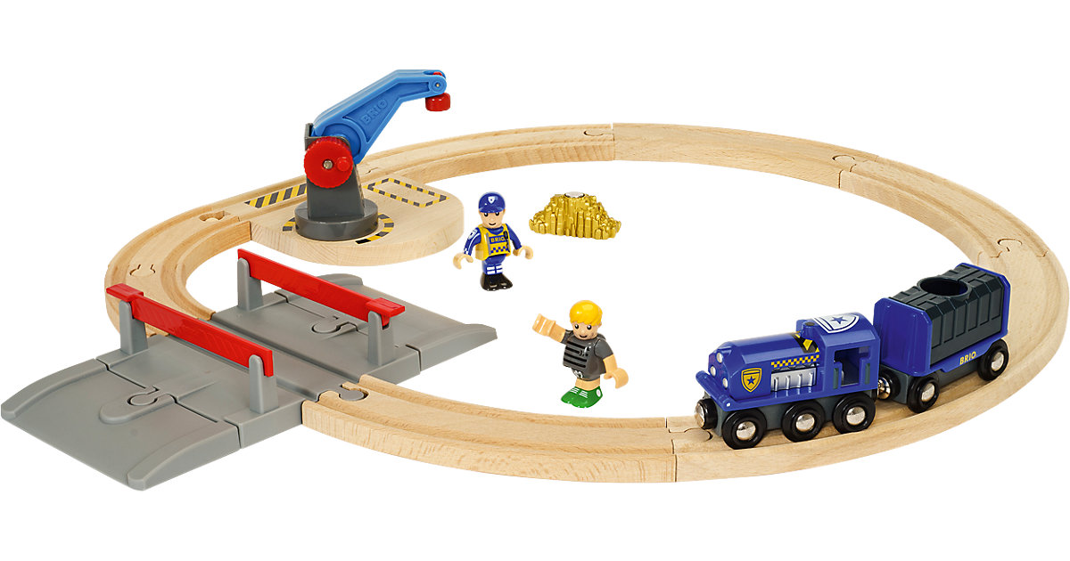 Brio · BRIO® Polizei Goldtransport-Set 33812