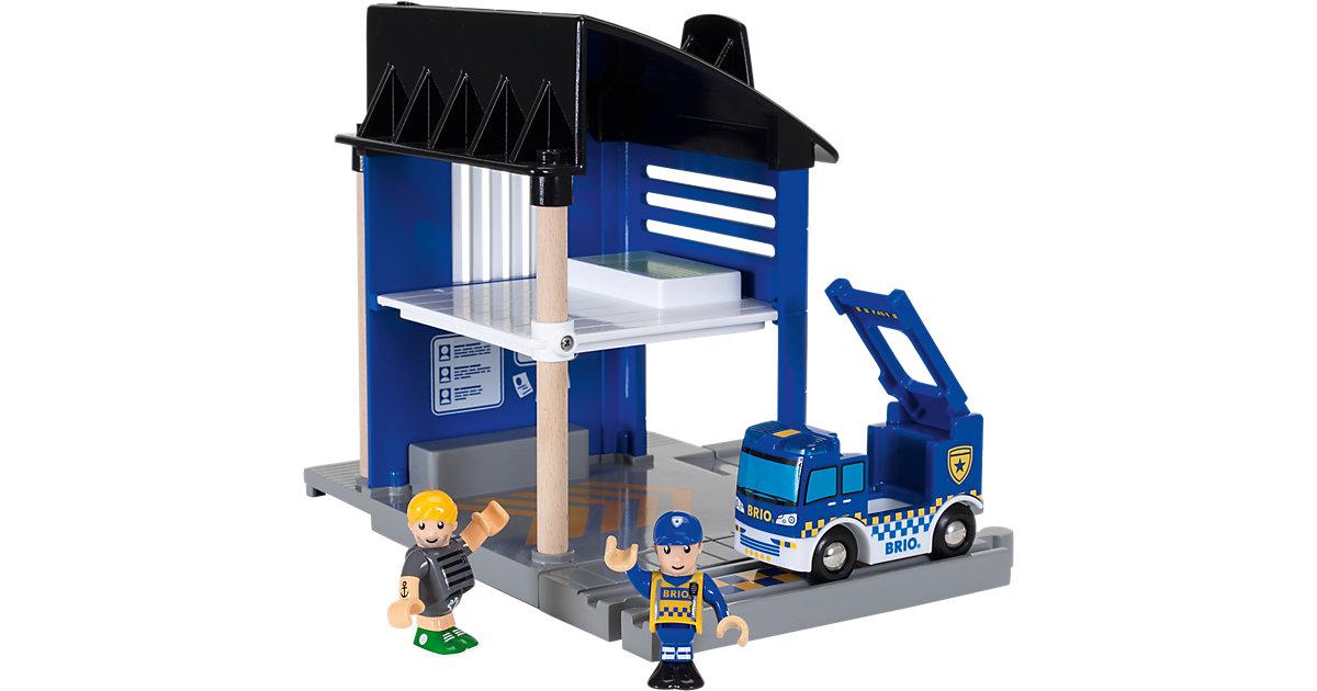 Brio · BRIO® Polizeistation mit Einsatzfahrzeug 33813