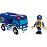 """Фургон BRIO """"Полиция"""" (свет, звук)"""