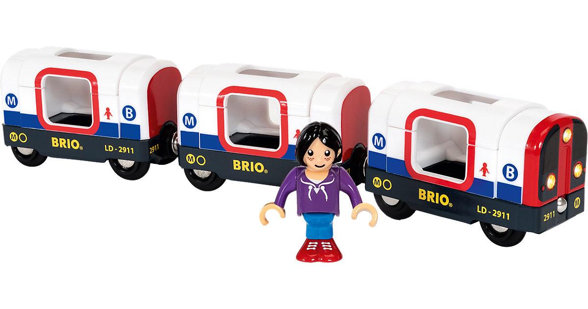 Brio · BRIO® U-Bahn mit Licht und Sound 33867