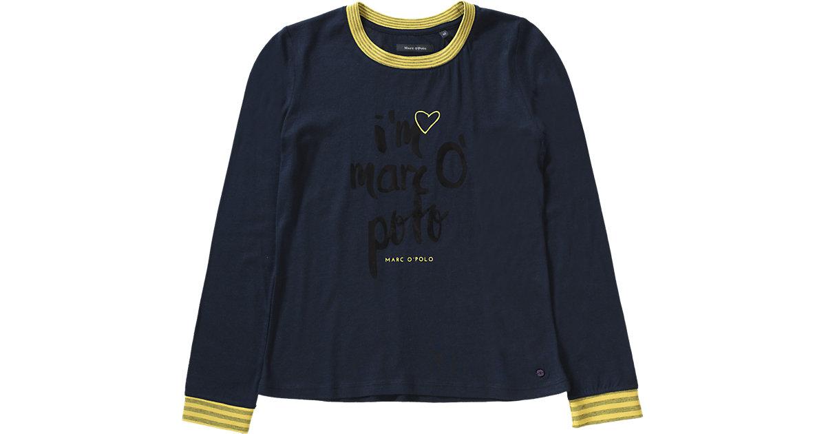 Langarmshirt mit Ärmelbündchen Gr. 152 Mädchen Kinder