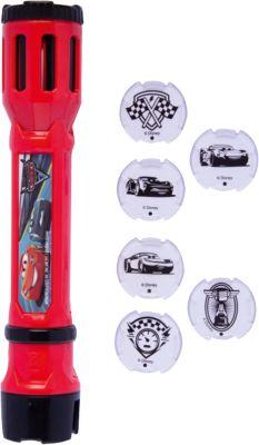 Projektions Taschenlampe mit LED /& 6 Projektionsmotiven Projektionslampe