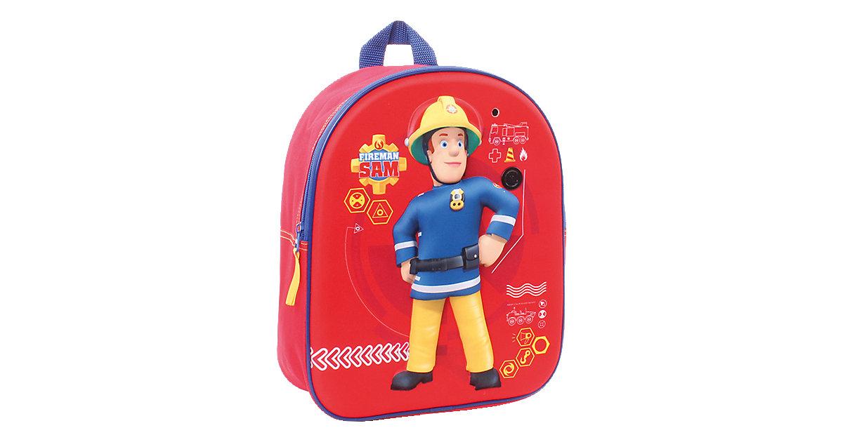 Kinderrucksack mit Sound Feuerwehrmann Sam